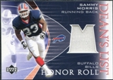 2003 Upper Deck Honor Roll Dean's List Jersey #DLSM Sammy Morris