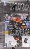 2001/02 Be A Player Memorabilia Hockey Hobby Box