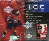 2001/02 Upper Deck Ice Hockey Hobby Box