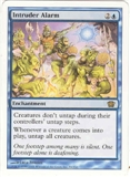 Magic the Gathering 8th Edition Single Intruder Alarm UNPLAYED (NM/MT)