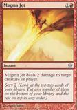Magic the Gathering Fifth Dawn Single Magma Jet UNPLAYED (NM/MT)