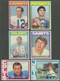 1972 Topps Football Partial Series 1 & 2 Set (No High Series) (EX-MT)