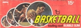 1974/75 Topps Basketball Wax Box