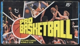 1976/77 Topps Basketball Wax Box