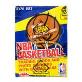 1988/89 Fleer Basketball Wax Box (BBCE Wrapped)