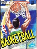 1989/90 Fleer Basketball Wax Box