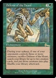 Magic the Gathering Urza's Legacy Single Defense of the Heart - MODERATE PLAY (MP)