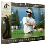 2005 Upper Deck SP Signature Golf Hobby Box
