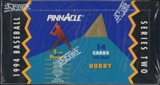 1994 Pinnacle Series 2 Baseball Hobby Box