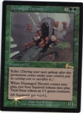 Magic the Gathering Urza's Legacy Single Deranged Hermit Foil