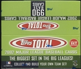 2002 Topps Total Baseball 36 Pack Box