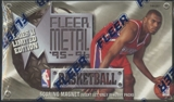 1995/96 Fleer Metal Series 1 Basketball Hobby Box