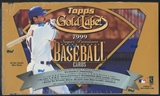 1999 Topps Gold Label Baseball 24 Pack Box