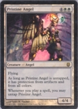 Magic the Gathering Darksteel Single Pristine Angel Foil