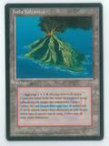 Magic the Gathering 3rd Ed (FBB) Single Volcanic Island (Italian) - NEAR MINT (NM)