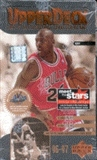1996/97 Upper Deck Series 1 Basketball Hobby Box