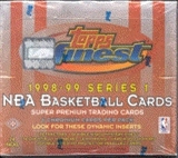 1998/99 Topps Finest Series 1 Basketball Hobby Box