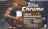 1998/99 Topps Chrome Basketball Hobby Box