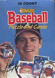 1988 Donruss Baseball Wax Box