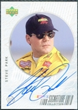 1999 Upper Deck Road to the Cup Signature Collection #SP Steve Park Autograph