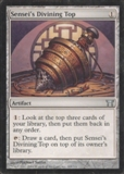 Magic the Gathering Champs of Kamigawa Single Sensei's Divining Top LIGHT PLAY (NM)