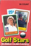 1981 Donruss Golf Wax Box