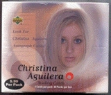 Christina Aguilera Prepriced Box (Upper Deck)