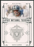 2008 Playoff National Treasures #73 Dave Casper /99