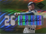 2005 Leaf Limited Legends Signature Jersey Number #28 Billy Williams 5/10