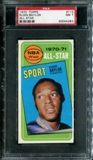 1970/71 Topps Basketball #113 Elgin Baylor All Star PSA 7 (NM) *4283