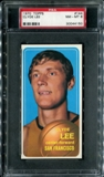 1970/71 Topps Basketball #144 Clyde Lee PSA 8 (NM-MT) *4150