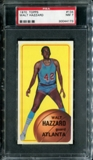 1970/71 Topps Basketball #134 Walt Hazzard PSA 7 (NM) *4173