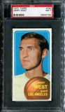 1970/71 Topps Basketball #160 Jerry West PSA 7 (NM) *4192
