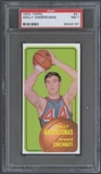 1970/71 Topps Basketball #21 Wally Anderzunas PSA 7 (NM) *4197