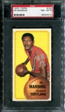 1970/71 Topps Basketball #132 Ed Manning PSA 8 (NM-MT) *4210