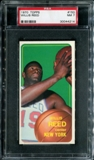 1970/71 Topps Basketball #150 Willis Reed PSA 7 (NM) *4214
