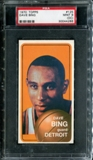 1970/71 Topps Basketball #125 Dave Bing PSA 9 (MINT) (OC) *4286
