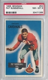 1955 Bowman Football Pat Summerall PSA 8 (NM-MT) *1366