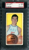 1970/71 Topps Basketball #152 Don May PSA 6 (EX-MT) *3848