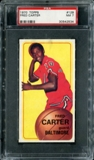 1970/71 Topps Basketball #129 Fred Carter PSA 7 (NM) *2534
