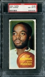 1970/71 Topps Basketball #149 Art Harris PSA 8 (NM-MT) *2536