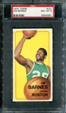 1970/71 Topps Basketball #121 Jim Barnes PSA 8 (NM-MT) *2561