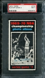 1970/71 Topps Basketball #170 Playoff Game 3 - Dave DeBusschere PSA 7 (NM) *2573