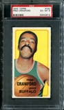 1970/71 Topps Basketball #162 Fred Crawford PSA 6 (EX-MT) *2612