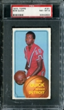 1970/71 Topps Basketball #161 Bob Quick PSA 8 (NM-MT) *2633