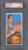 1970/71 Topps Basketball #22 Guy Rodgers PSA 7 (NM) *2649