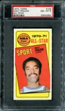 1970/71 Topps Basketball #106 Walt Frazier All Star PSA 8 (NM-MT) *2654