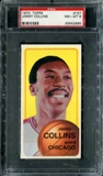 1970/71 Topps Basketball #157 Jimmy Collins PSA 8 (NM-MT) *2655
