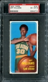 1970/71 Topps Basketball #151 Art Williams PSA 6 (EX-MT) *2714