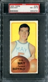 1970/71 Topps Basketball #152 Don May PSA 8 (NM-MT) *2734